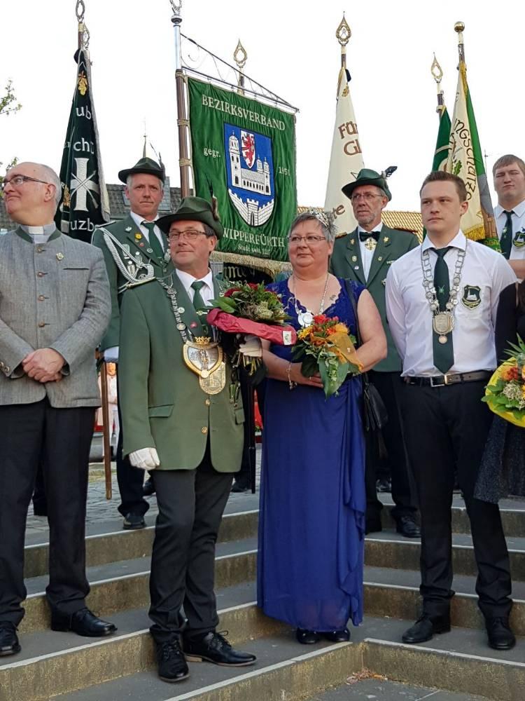 Unser Bezirkskönigspaar 2018/2019