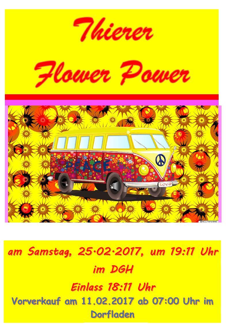Thierer Flower Power